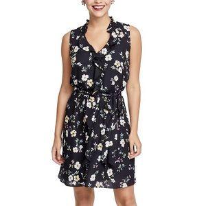 Rachel Rachel Roy Black Ruffled Floral Dress